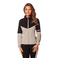 Gymshark Track Jacket - Black All women's wear | GymShark International | Innovation In Fitness Wear
