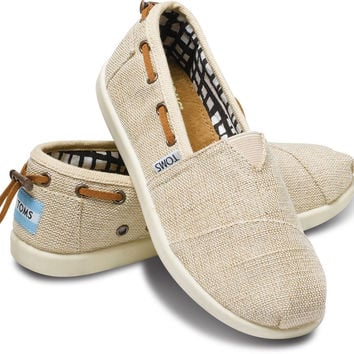 NATURAL BURLAP YOUTH BIMINIS