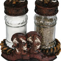 Salt & Pepper Shaker Set - Cowboy Boot