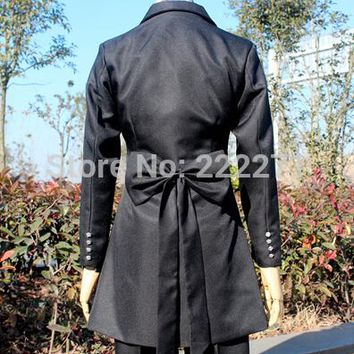 Kuroshitsuji Devil Black Butler Phantomhive Cosplay Costume Uniform   Anime  Track
