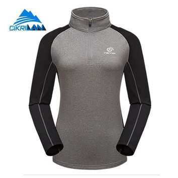 Spring Quick Dry Breathable Outdoor Hiking T-shirt Leisure Camping Climbing Fishing T Shirt Cycling Ciclismo Camiseta Mujer