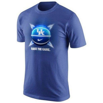 Kentucky Wildcats Raise The Game Basketball Nike t-shirt NWT Dri Fit UK CATS SEC