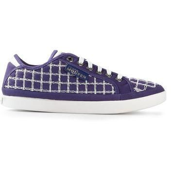 Puma Black Label By Alexander Mcqueen Checked Trainer