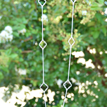 Touch Of Chic Necklace Small - Silver