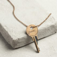 THE GIVING KEY XL BELIEVE NECKLACE