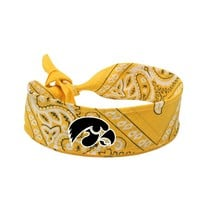 Legacy Athletic Iowa Hawkeyes Bandana, Size: One Size (Black)