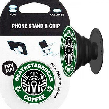 Darth Vader (Starbucks) Phone Stand & Grip