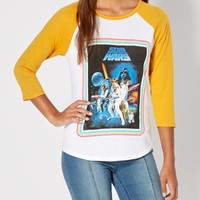 Star Wars Raglan Top | Graphic Tees | rue21