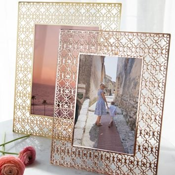 Picture Frames in Rose Gold Filigree | Kendra Scott