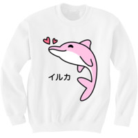 PRE-ORDER Pink Dolphin Sweater