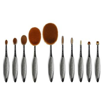 Elite Smoke 10-Piece Brush Collection