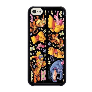 winnie the pooh and friends iphone 5c case cover  number 1