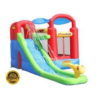 Inflatable Bounce House and Water Slide Wet or Dry Playstation: Toys & Games