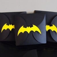 Batman Birthday Party Invitation Customized Party by matteya