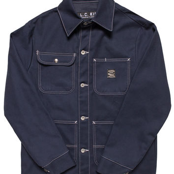 Navy Duck Chore Coat