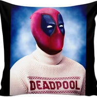 Christmas Dead Pool Couch Pillow
