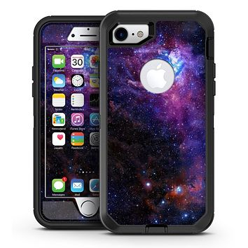 Glowing Deep Space - iPhone 7 or 7 Plus OtterBox Defender Case Skin Decal Kit
