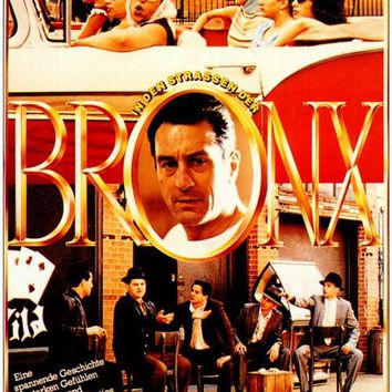 A Bronx Tale (German) 27x40 Movie Poster (1993)