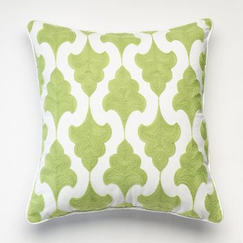 Happy Chic by Jonathan Adler Claire Trees Throw Pillow (Green)