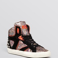 Ash High Top Wedge Sneakers - Spirit