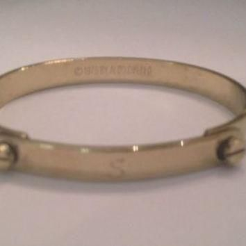 Vintage Aldo Cipullo Cartier Charles Revson 1976 Gold Friendship Bangle Bracelet