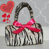 "Animal Print ""Wild Thing"" Toddler Purse"
