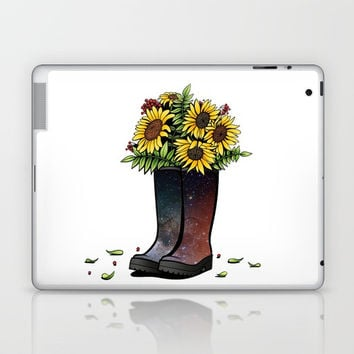 Sunflowers Laptop & iPad Skin by MIKART
