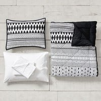 Midnight Geo Value Comforter Set with Sheets, Pillowcase, Comforter + Sham