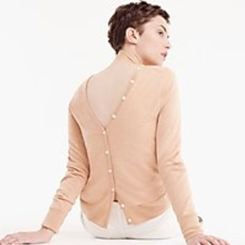 Women's Reversible Button-Back Sweater - Women's Sweaters | J.Crew