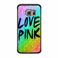 pink rainbow cute love samsung galaxy s7 s7 edge s3 s4 s5 s6 cases