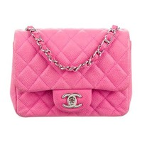 Quilted Classic Mini Square Flap Bag