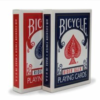 Original Bicycle Poker 2pcs/set price Red+Blue Bicycle Regular Playing Cards Rider Back 808 Sealed Decks