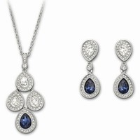 HeyBay.com: Swarovski Crystal Sensation Montana Set 1156255, Treat Yourself with Charming Swarovski Crystal Sensation Montana Set 1156255