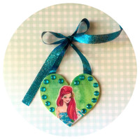 Disney Ariel The Little Mermaid Decorative Hanging Wall Ornament