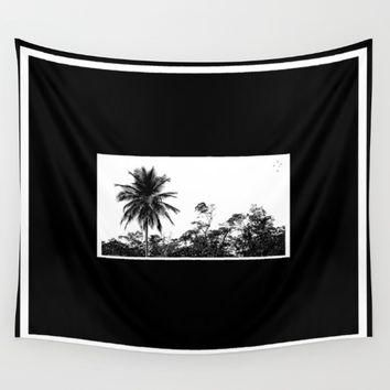 Palm Tree Supreme Wall Tapestry by Derek Delacroix
