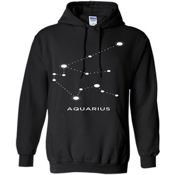 Aquarius Zodiac Constellation Shirt Birth Sign T-Shirt