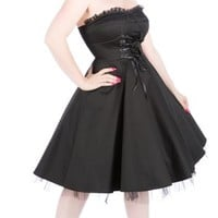 Hearts and Roses Anita Strapless Dress