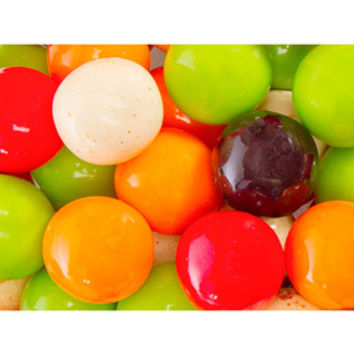 Soda Fountain 1-Inch Gumballs: 850-Piece Case