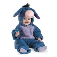 Winnie the Pooh Eeyore Deluxe Plush Halloween Costume - Infant Size 12-18 Months