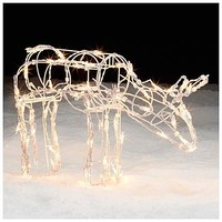 Trim A Home® Lighted Grazing Doe Lawn Decoration