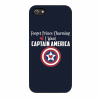 Captain America Forget Prince Charming iPhone 5 Case