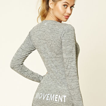 Active Movement Graphic Top