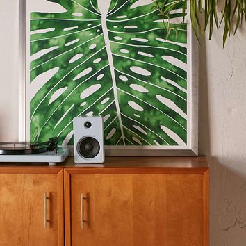 Living Pattern Monstera Art Print - Urban Outfitters