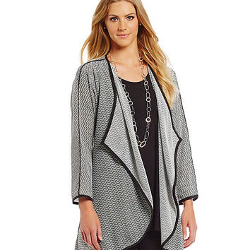 IC Collection Reversible Long Jacket | Dillards