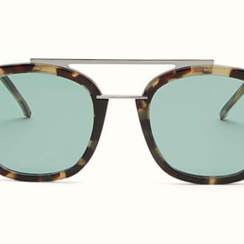 Fendi - Urban 0224/S Havana Square Sunglasses