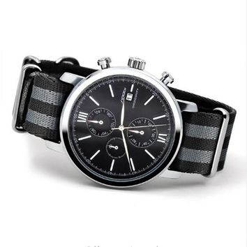 Men's Black Sinobi Classy Quartz Watch