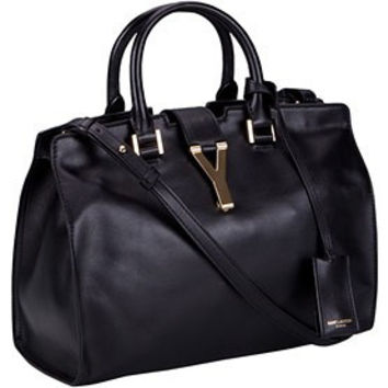 YSL Cabas Medium Doctors Bag Black