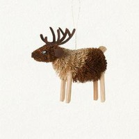 terrain: Natural Reindeer Ornament