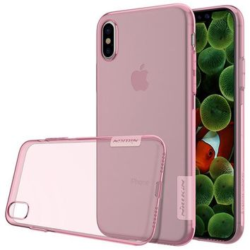 Transparent Soft iPhone X Case