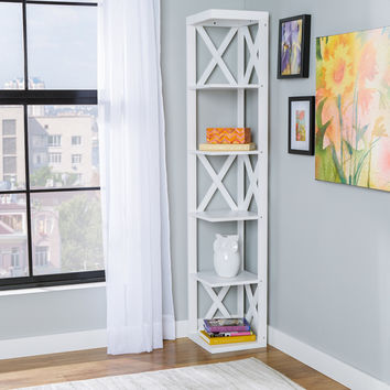 Zipcode Design Harper Corner Bookcase